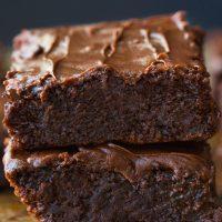 Fazulove brownies s mliečnou čokoládou